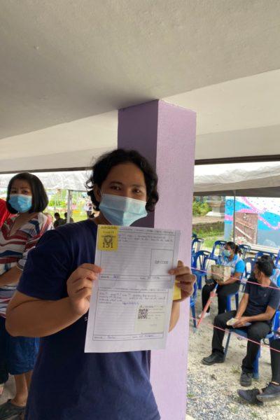 Adang Island Resort - Vaccine Jab